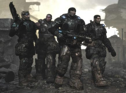 Gears Of War Marcus Dom Cogs