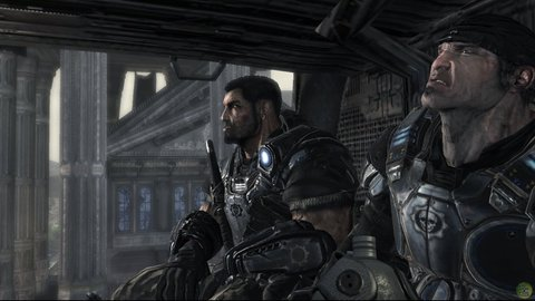 Gears Of War Marcus Dom Helicopter