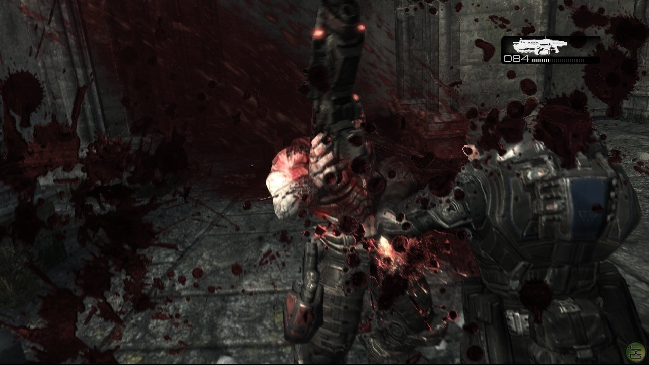 it's time to make some people wanna rage Gears-of-war-marcus-locust-chainsaw-gore