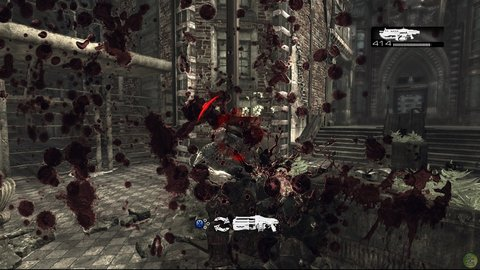Gears Of War Marcus Locust Lots Of Blood