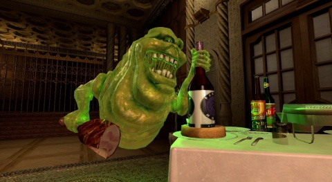 Ghostbusters Slimer Eating