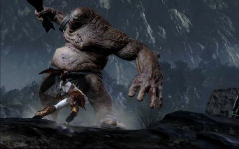 god of war 3  Troll