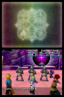 Golden Sun Dark Dawn Battle