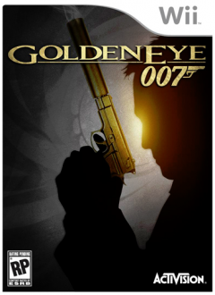 Goldeneye 007 wii Cover
