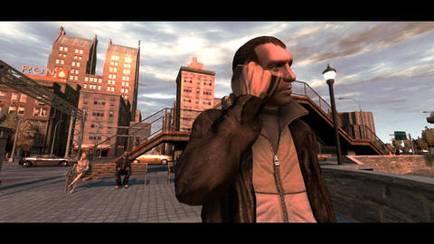Grand Theft Auto 4 Niko Cell Phone