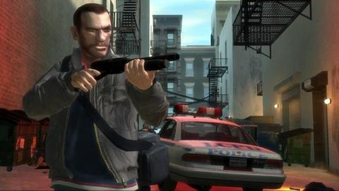 Grand Theft Auto 4 Niko Shotgun