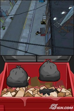 Grand Theft Auto Chinatown Wars Dumpster Minigame