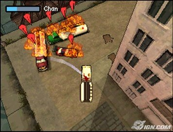 Grand Theft Auto Chinatown Wars Firetruck