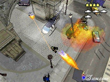 Grand Theft Auto Chinatown Wars Flamethrower