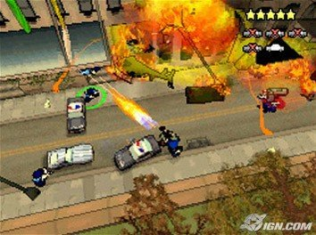 Grand Theft Auto Chinatown Wars Helicopter Explosion
