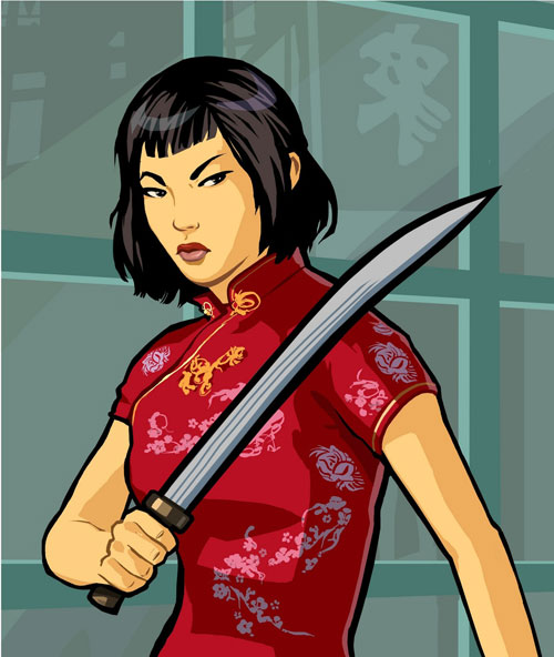 Grand Theft Auto Chinatown Wars Ling Sword