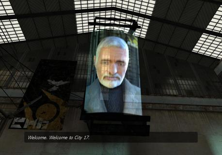 Half Life 2 Welcome City 17 Doctor Breen