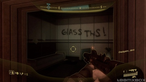 Halo 3 Odst Graffiti Glass This