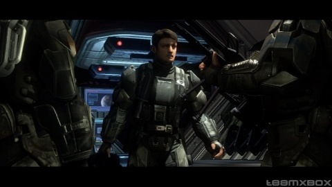 Halo 3 Odst Nathan Fillion Captain mal