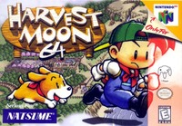 Harvest Moon 64/harvest Moon 64 Cover