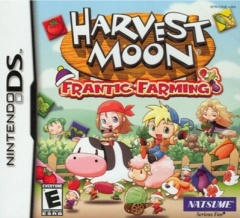Harvest Moon Frantic Farming Cover