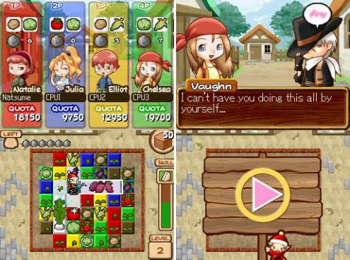 Harvest Moon Frantic Farming Gameplay Story