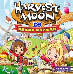 Harvest Moon Grand Bazaar Cover