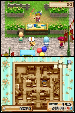 Harvest Moon Grand Bazaar Selling