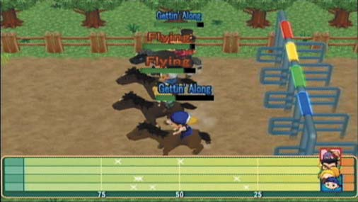 Harvest Moon Magical Melody Horse Race