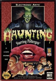 The Haunting Starring Polterguy Cover