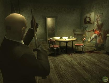 Hitman Blood Money Agent 47 Shotgun Thugs