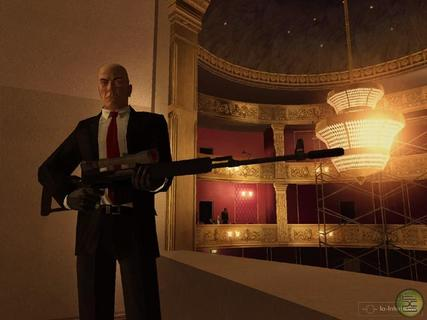 Hitman Blood Money Agent 47 Sniper Rifle