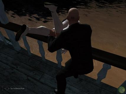 Hitman Blood Money Agent 47 Toss Overboard