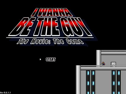 I Wanna Be The Guy Title Screen