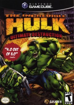 Incredible Hulk Ultimate Destruction cover