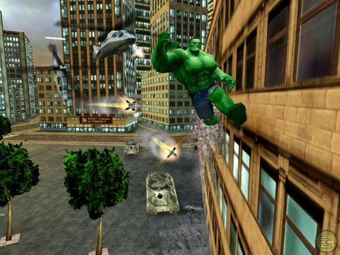 Incredible Hulk Ultimate Destruction smash wall run