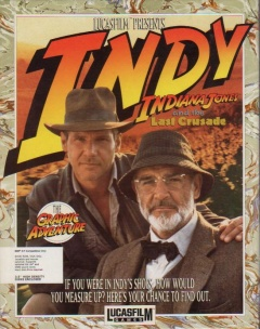 Indiana Jones and the Last Crusade Cover