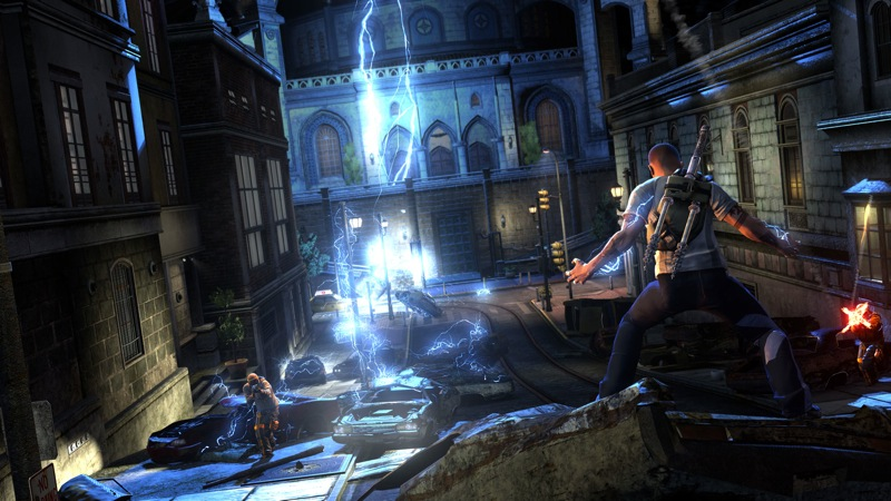 Infamous 2 Lightning