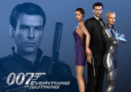 James Bond Everything Or Nothing Wallpaper