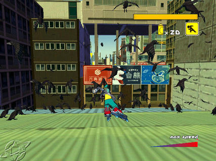 Jet Set Radio Future Birds