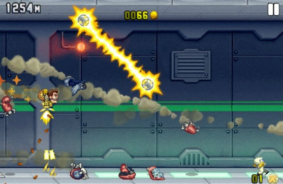 Jetpack Joyride Profit Bird Destroyed