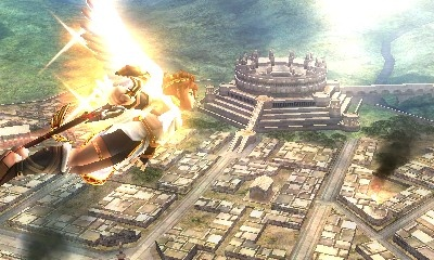 kid Icarus Uprising Colosseum