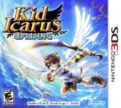 Kid Icarus: Uprising Cover