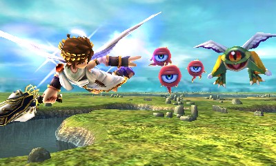 kid Icarus Uprising Flight