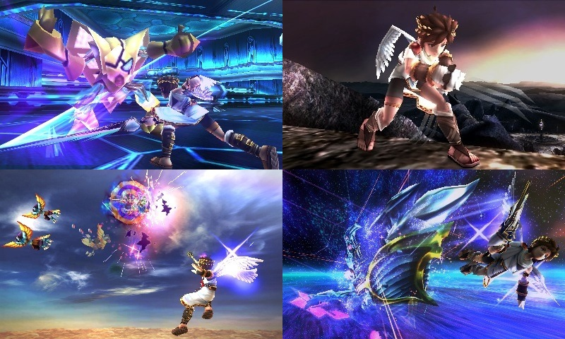 kid Icarus Uprising Four
