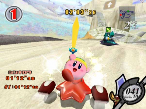 Kirby Air Ride Sword