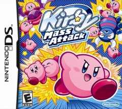 Kirby Mass Attack Cover