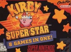 Kirby Super Star Cover