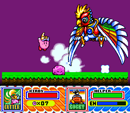 Kirby Super Star Dyna Blade Bird
