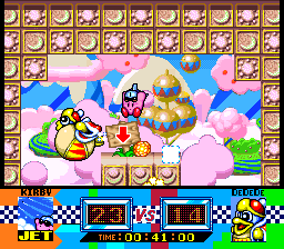Kirby Super Star King Dedede Gourmet Race
