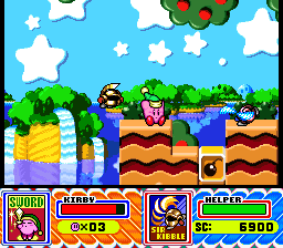 Kirby Super Star Sir Kibble Sword