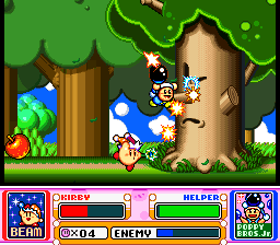 Kirby Super Star Tree Apple Poppy Bros