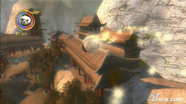 kung fu panda flying roll Panda Pop Level 34