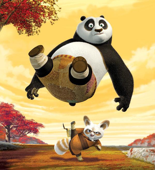 Kung Fu Panda Po Master Shifu Kung Fu Panda Po And Shifu