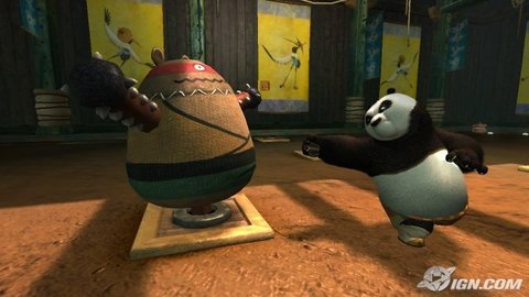 Kung Fu Panda Po Training Dummy